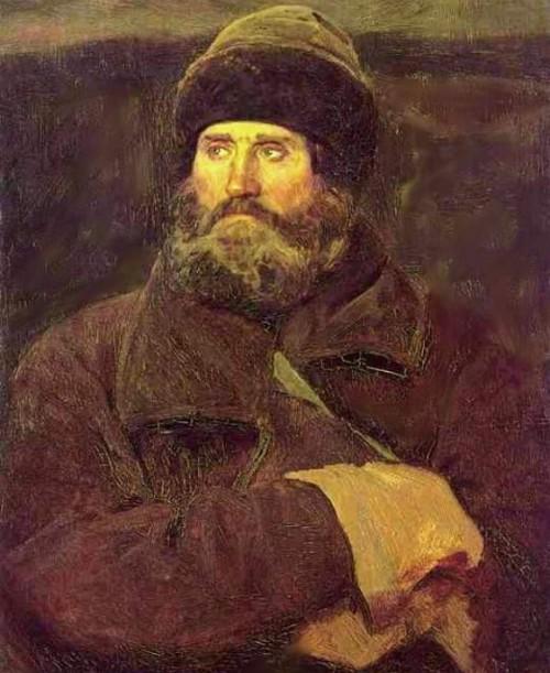 Портрет крестьянина Владимирской губернии Ивана Петрова
