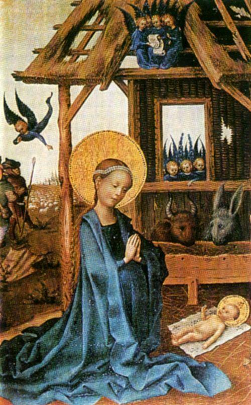 Поклонение младенцу