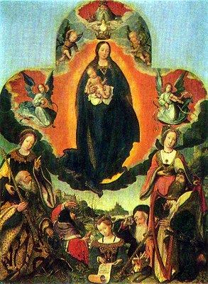 Мария во славе