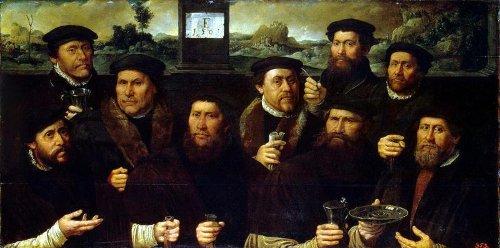 Групповой портрет корпорации амстердамских стрелков
