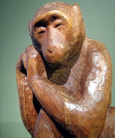 Печальная обезьяна