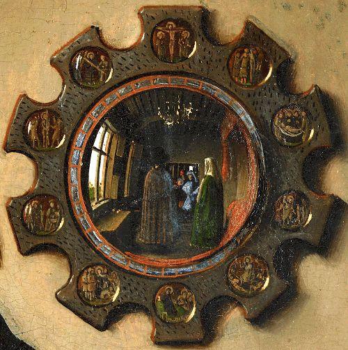 Портрет четы Арнольфини (фрагмент)