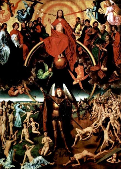 «Страшный суд»: центральная часть триптиха