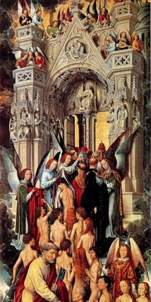 «Страшный суд»: левая часть триптиха
