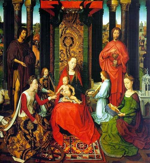Обручение св. Екатерины