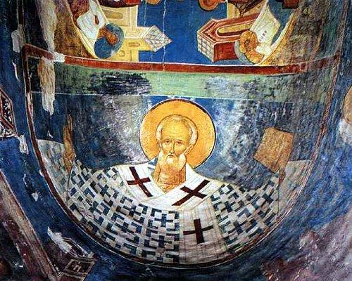 Поясной Никола в дьяконнике Ферапонтова монастыря