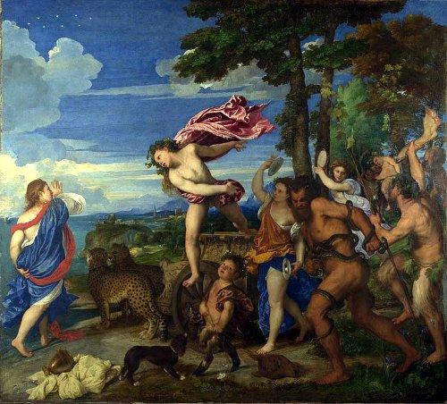 Тициан «Вакх и Ариадна»