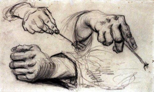 Руки «едоков картофеля»