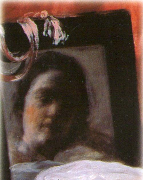 «Венера с зеркалом» (фрагмент)