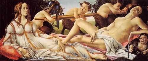 Боттичелли «Венера и Марс»