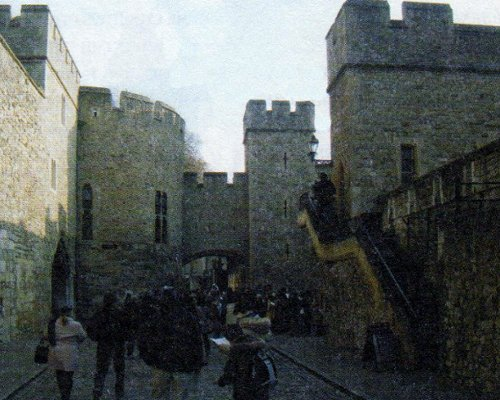 Первый двор за главными воротами