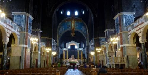 Центральная часть собора