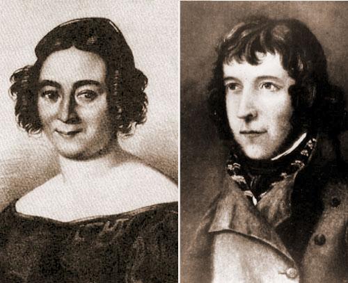 Елизавета Сандунова и Антон Крутицкий
