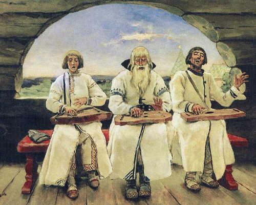 Виктор Васнецов, «Гусляры», 1899 год