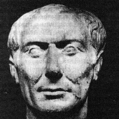 Цезарь. Одно из немногих достоверных изображений