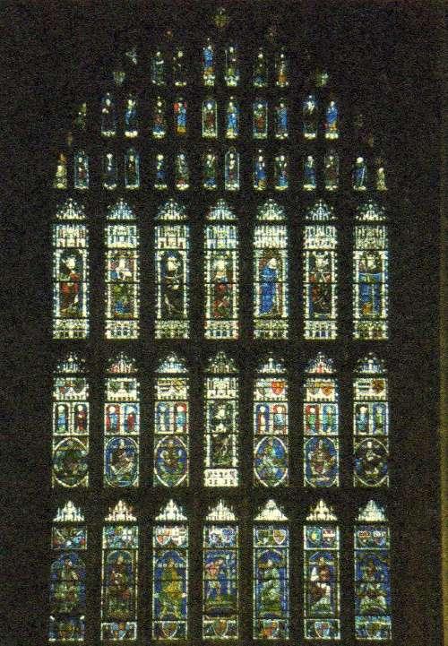 Западное окно 1180-1200