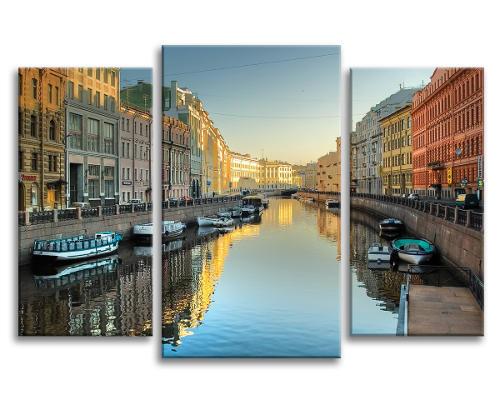 Модульная картина Санкт-Петербурга