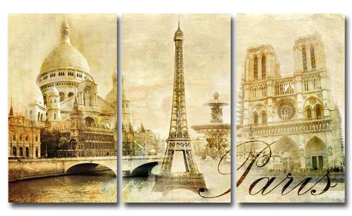 Модульная картина Парижа