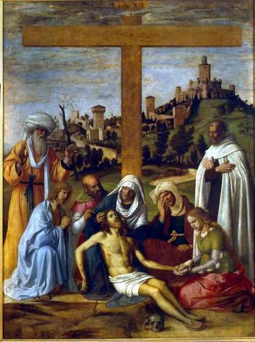 Д. Чима да Конельяно. Снятие с креста