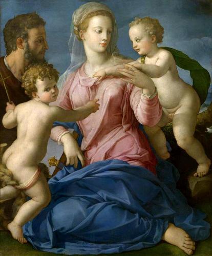 А. Бронзино. Святое семейство