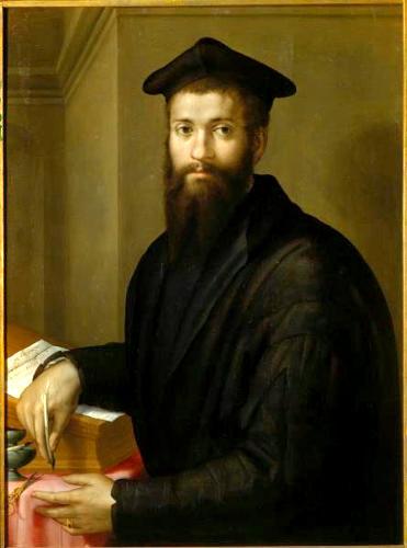 Ф. Сальвиати. Портрет прелата (Портрет кардинала Джованни)
