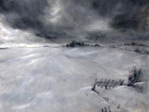 «Зимний мотив. Рябина», Надежда Винниченко