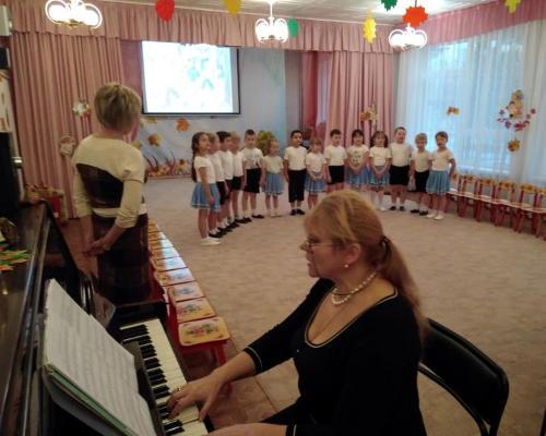 Музыкальный уголок в детском саду
