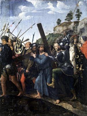 М. Зиттов. «Несение креста»