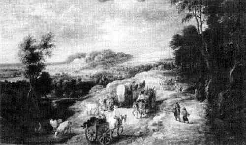 Л. ван Юден. «Сельская дорога»