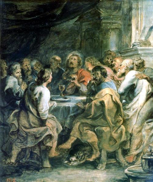 П.П. Рубенс. Тайная вечеря