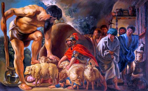 Иорданс. Одиссей в пещере Полифема